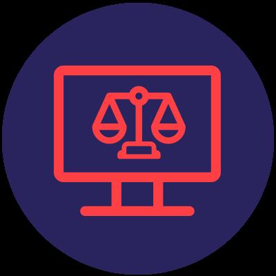 Droit informatique icône Ad Fontes